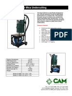 Dust Collector for Mica Undercutters-dsh0