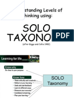 SOLO Explained Ppt