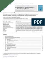 2009.Heterogeneous Photocatalytic Degradation of Organic Contaminants Overtitanium Dioxide a Review of Fundamentals,