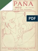 España (Madrid. 1915). 18-11-1922, no. 344