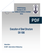 Execution of Steel Structure EN 1090