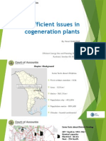 The efficient issues in cogeneration plants