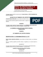 Ley Ambiental de Protección a La Tierra Del Distrito Federal