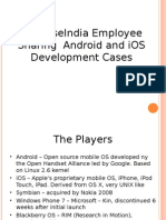 SynapseIndia Employee Sharing Android and IOS Development Cases