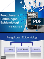 "Presentasi ""Pengukuran Epidemiologi"