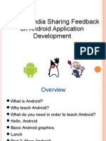 SynapseIndia Sharing Feedback on Android Application