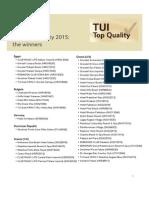 TUI Top Quality 2015 Gewinnerliste Englisch 177420715
