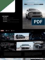 Dodge Durango 2015 Misc Documents-Brochure