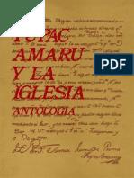 Antologia Tupaca Amaru y La Iglesia