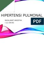 aspek radiologi hipertensi pulmonal