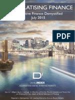 Democratising Finance, DealIndex Research, July 2015