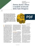 Domus Aurea_rilievo e Modeli Strutturali