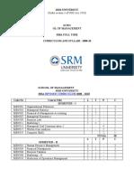 Mba Full Syllabus 2009 (1)