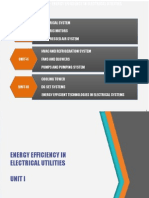 Energy Efficiency in Electrical Utilities