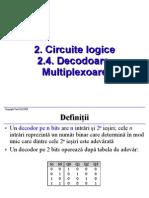 02 04 Circuite Logice Decodoare