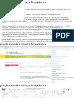 Industria Farmaceutica - Legislação 2015