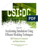 1550_Accelerating Simulations Using Efficient Modeling Techniques