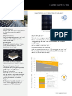 Ds e20 Series 327 Residential Solar Panels