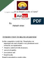 Awareness of Airtel