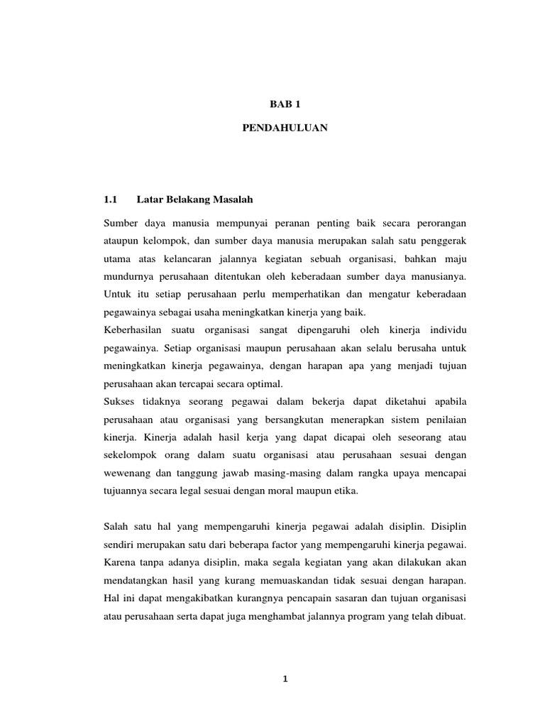 Skripsi Bab 1 - Ide Judul Skripsi Universitas