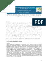 Estudo de Viabilidade Implantação ISO 9001