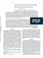 A Comparative Ion Chemistry Study of Acetone, Diacetone Alcohol, And Mesityl Oxide