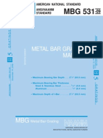MBG_531-09 Metal Bar Grating Manual