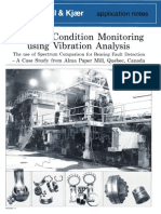 condition monitoring using vibration analysis