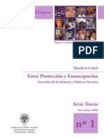 Entre protección y emancipación (Manfred Liebel)