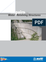 Repais to Water Retaining Structures
