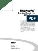 Waukesha Service Repair Kits 2005