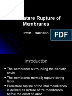 Premature Rupture of Membranes