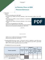 12.- 290415_Procesos Especiales Recogidos en El Código Procesal Penal de 2004