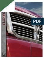 Dodge Dakota 2011 Misc Documents-Brochure