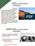 Eart Soilasbuildingmaterial OTHER MATERIALS
