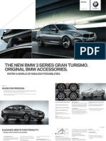 BMW 325 Gran Turismo 2013 Misc Documents-Accessories Catalogue