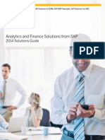 2014 Analytics and Finance Solutions Guide(External Version)(January 2014)