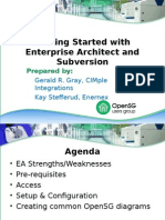 20100719-Bootcamp - Getting Started With Enterprise Architect and Subversion - Gerald Gray (2)
