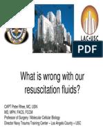 Resuscitation Fluids