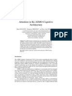Attention in the Attention_in_the_asmo_cognitive_architectureAsmo Cognitive Architecture
