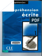 FLE Comprehension Ecrite Niveau 1