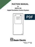 Basler IM for DECS-100 Digital Excitation Control System 9 2