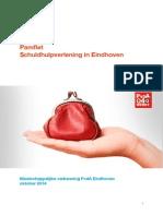 Pamflet Schuldhulpverlening Eindhoven
