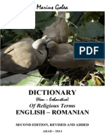 Dictionary of Religious Terms Eng Ro Second Edition