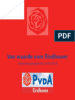 Programma-PvdA Eindhoven 2014-2018