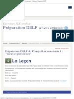 Préparation DELF A1 Compréhension écrite I _ _Lieux et personnes_ - Débutant - P.pdf