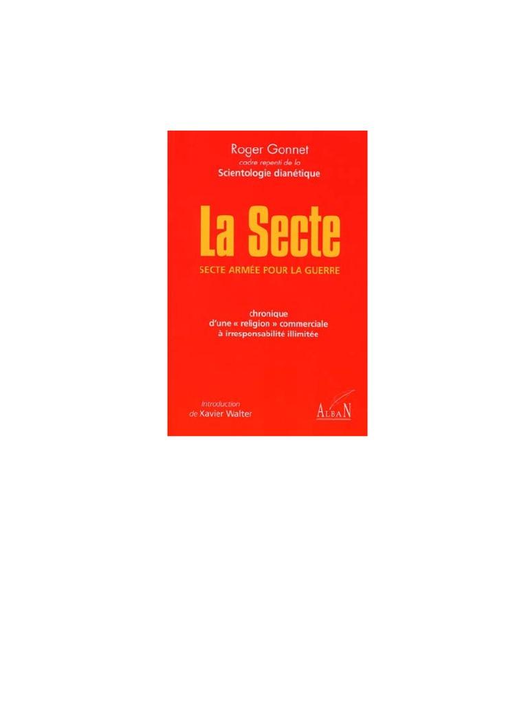 Roger Gonnet - La Secte (Dianétique, Scientologie, Hubbard)