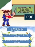 PANDIWA PPT