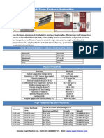 FeCrAl (0Cr25Al5) resistance heating alloy