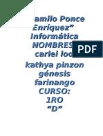 investigacion internet